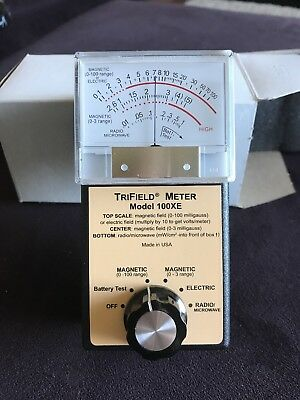 Trifield 100XE EMF Meter Magnetic, Electric, and Radio- Excellent condition
