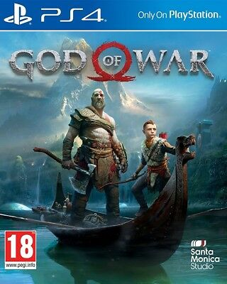 God of War -  PS4 - PlayStation 4 Deluxe Editon