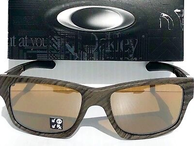 bfdc64bd59a NEW  Oakley JUPITER Squared Woodgrain POLARIZED Bronze lens Sunglass 9135-07