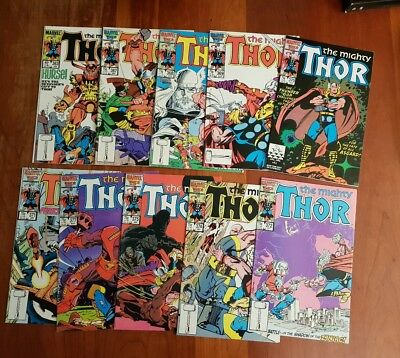 Collection of Mighty Thor comics - Walt Simonson