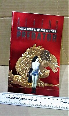 hero premiere edition comic #3 ALIENS PREDATOR DEADLIEST SPECIES FOIL cover
