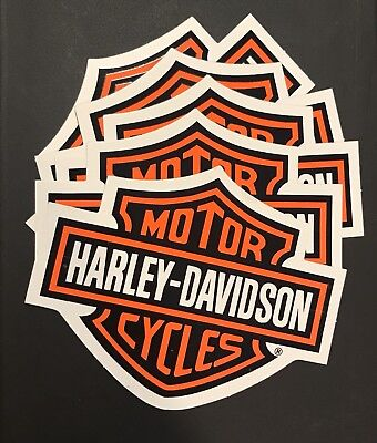 5 Brand New Harley-Davidson Bar and Shield Stickers