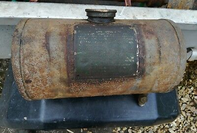 wolseley wd fuel tank, stationary engines