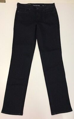 CALVIN KLEIN JEANS WOMENS SIZE 12 X 30 ULTIMATE SKINNY NEW WITH TAGS #444 Rinse