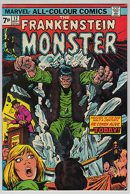 The Frankenstein Monster #12 - FN+  Pence