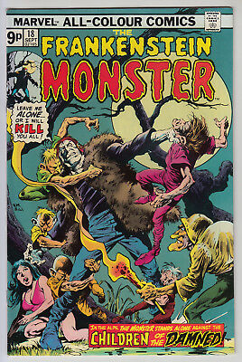 The Frankenstein Monster #18 - F/VF  Pence