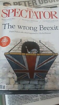 The Spectator magazine 21 April 2018 Rod Liddle Wales Windrush Brexit Texas