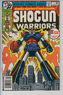 Shogun Warriors #1 - FN+  Cents