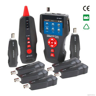 New NF-8601W Multifunctional Network Cable Tester LCD Cable length Tester Breakp