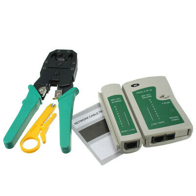 DANIU RJ45 RJ11 RJ12 CAT5 LAN Network Tool Kit Cable Tester Crimp Crimper Plier