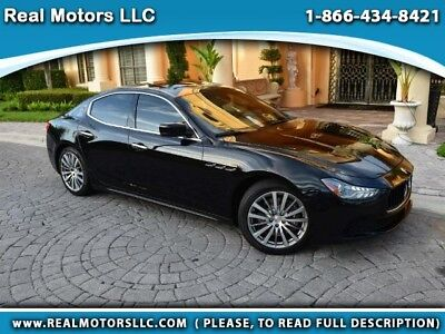 2015 Maserati Ghibli 4dr Sdn 2015 Chibli Clean Title, Theft Recovery, Financing Available (call in advance)