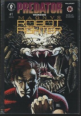 Predator Vs Magnus Robot Fighter #1 From 1992. Unread Nm+ 9.6 Copy Cgc It!