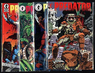 Predator #1-4, Chris Warner Art