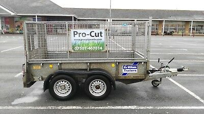 Ifor Williams GD84 Twin Axle - 2700 kg / Loading Ramp / Mesh Side Extensions
