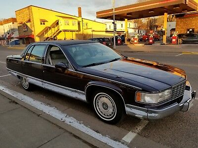 1994 Cadillac Fleetwood Brougham 1994 Fleetwood Brougham Well Maintained Runs and Drives Excellent Needs Nothing!