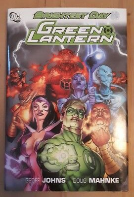 Green Lantern: Brightest Day HARDCOVER graphic novel by Geoff Johns DC