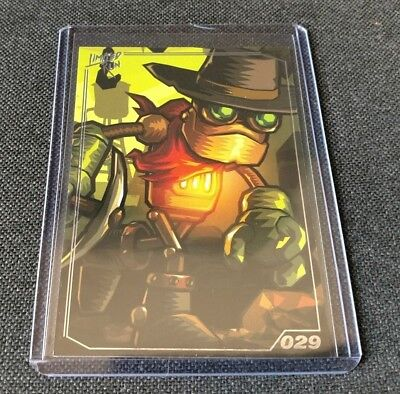 SteamWorld Dig / Heist 029 - PlayStation - Limited Run Games Trading Card - NEW