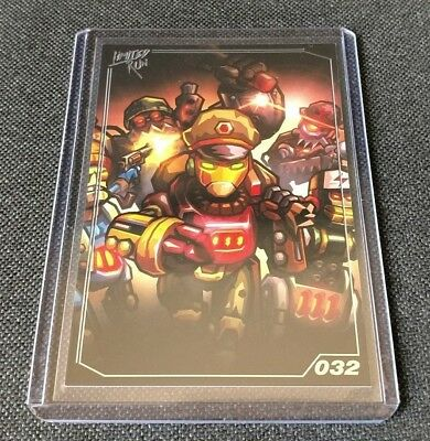 SteamWorld Dig / Heist 032 - PlayStation - Limited Run Games Trading Card - NEW
