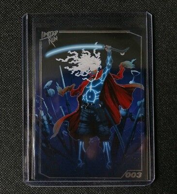 Furi - PlayStation - Limited Run Games Trading Card 003 - NEW