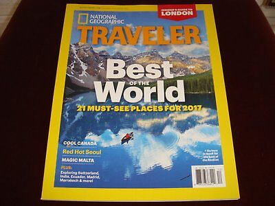 National Geographic Traveler Magazine 21 Must-See Places for 2017 Canada Travel
