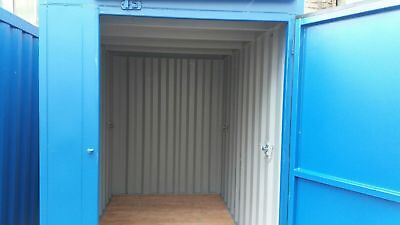 Skip Lock Up Box Secure Storage Container Tools Box Mobile Lockup Site Store