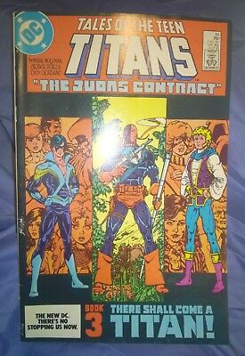 Tales of the New Teen Titans #44 DC Comics Jul 1984 9.0 1st Nightwing Appearance