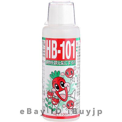 Flora HB-101 All-purpose Natural Plant Vitalizer Liquid Plant Food 100cc JAPAN