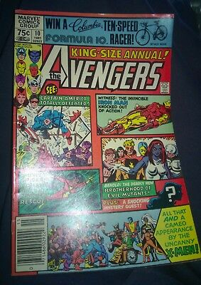 The Avengers King Size Annual #10 1981 8.0 - First Appearance of Rogue
