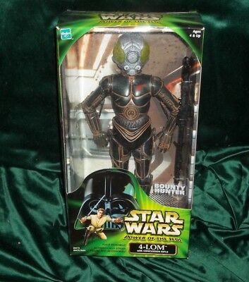 "Star Wars Potj Series Action Collection 12"" 1/6 Scale Bounty Hunter 4-Lom Figure"