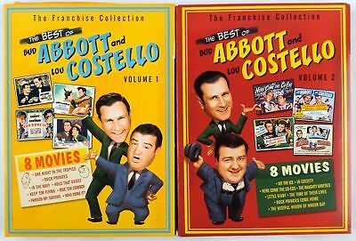 THE BEST Of Bud Abbott And Lou Costello Vol 1 New Dvd
