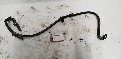 """Black 48/"""" Earth Strap Amp Kit Upgrade Battery Lead Cable Petrol Diesel Power"""