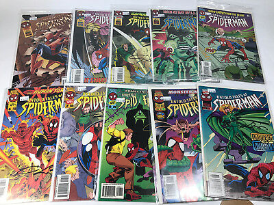 Untold Tales of Spider-Man 1-10 All Signed Kurt Busiek Lot 1 2 3 4 5 6 7 8 9 10
