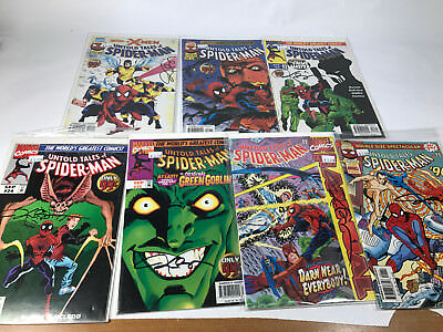 Untold Tales of Spider-Man 21-25 & Annual 96 97  All Signed Kurt Busiek Lot of 7
