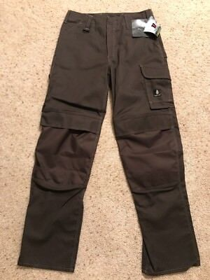 Men's Mascot Houston Danish Design Work Pants With Kneepad Pockets Size 31.5x35