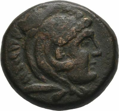 Ancient Greece 277/6-239 BC MACEDON ANTIGONOS GONATAS HERAKLES RIDER