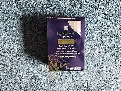 Rite Aid Renewal Extra Strength For Men Hair Regrowth Treatment 3 Month- FOAM