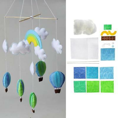 Wind Chime Kid Toy Home Ornament Decor Non Woven DIY Felt Materials Package