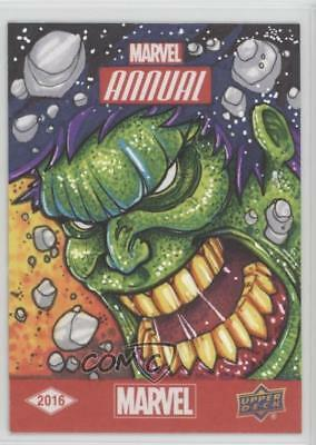 2016 Upper Deck Marvel Annual Sketch Cards #SKT Sean Beck Auto Card n7r