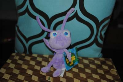 A Bug's Life DOT Plush Purple ANT Girl Disney w Tag Disney Store Pixar