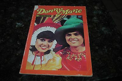 Donnie & Marie Vintage Golden All Star Book Comic Illustrated 1977 RARE