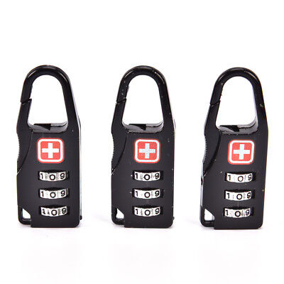 Luggage Suitcase Travel Security Lock 3 Digit Combine For HU
