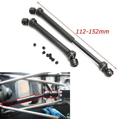 Heavy Duty Steel Drive Shaft For RC 1:10 Axial SCX10 RC4WD Crawler Trucks 2Pcs