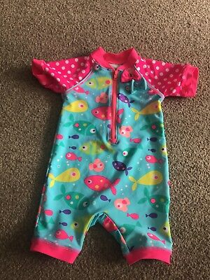12-18 Months Girls UV Swim Suit