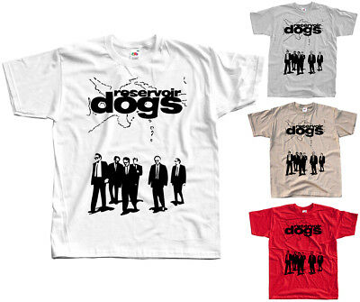 Reservoir Dogs V1, movie poster, Quentin Tarantino T SHIRT WHITE all sizes S-5XL