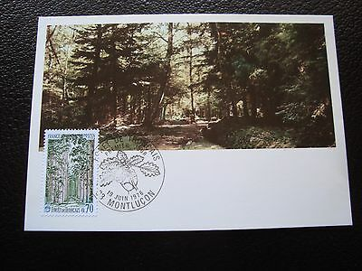 FRANCE - card 1st day 19/6/1976 (forest tronçais) (cy93) french
