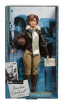 Barbie Collector Inspiring Women Series Amelia Earhart Doll **NEW**