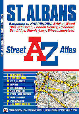St Albans Street Atlas by Geographers' A-Z Map Company (Paperback, 2012)