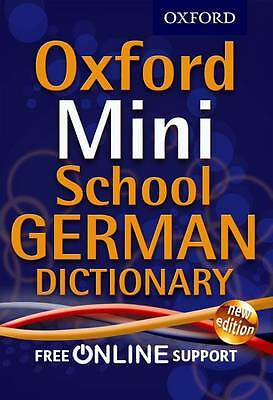 Oxford Mini School German Dictionary by Oxford Dictionaries (Mixed media...
