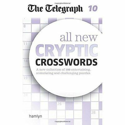 The Telegraph: All New Cryptic Crosswords 10 by The Telegraph Media Group...