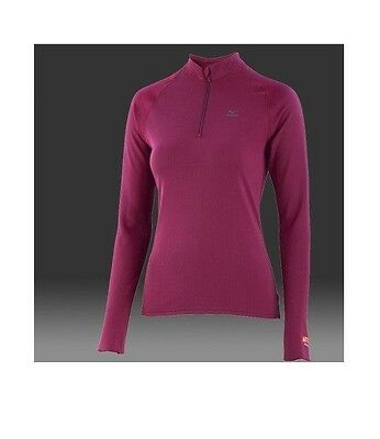MIZUNO Breath thermo 1/2 zip T-shirt manches longues femme taille  L ou  XL